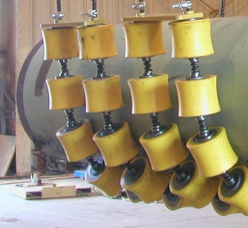Pipe Cradles To Pipe Rigging Rollers